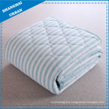 Cotton Bedding Quilt Stripe Blanket